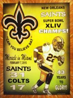 New Orleans Saints Super Bowl XLIV Champs